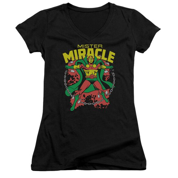 Dc Mr Miracle Junior V Neck T-Shirt
