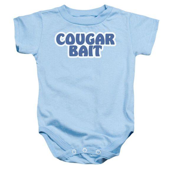 Cougar Bait Infant Snapsuit Light Blue Md