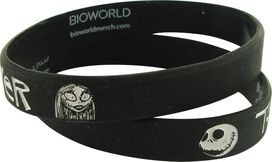 Nightmare Before Christmas Together Forever Rubber Wristband Set