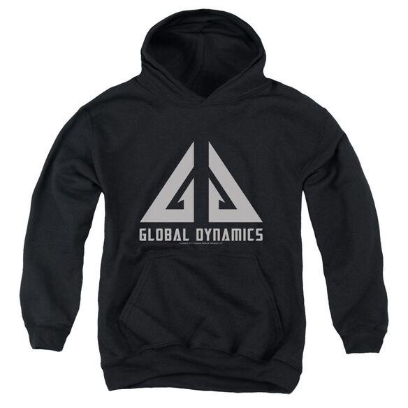 Eureka Global Dynamics Logo Youth Pull Over Hoodie