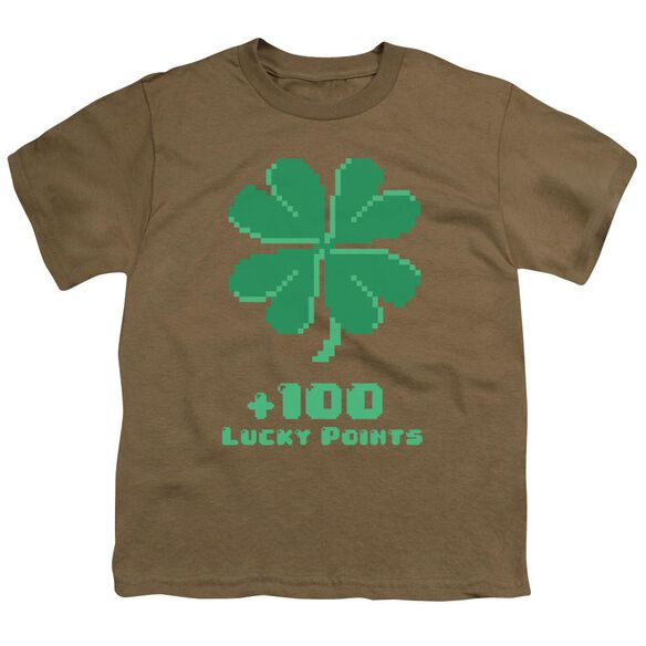 Lucky Points Short Sleeve Youth Safari T-Shirt