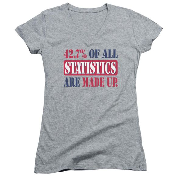 Statistics Junior V Neck Athletic T-Shirt
