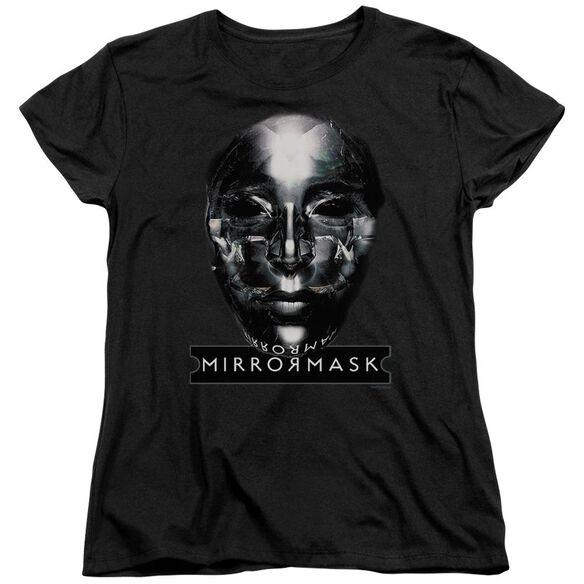 Mirrormask Mask Short Sleeve Womens Tee T-Shirt