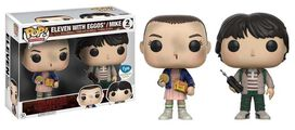 Stranger Things Eleven with Eggos & Mike 2 pack Exclusive Funko Pop