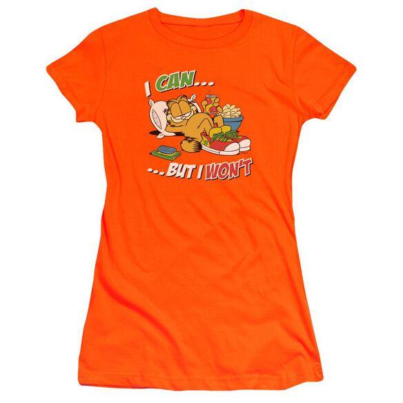 Garfield I Can... Premium Bella Junior Sheer Jersey