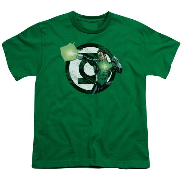 Jla Blasting Logo Short Sleeve Youth Kelly T-Shirt