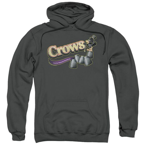 Tootise Roll Crows Adult Pull Over Hoodie