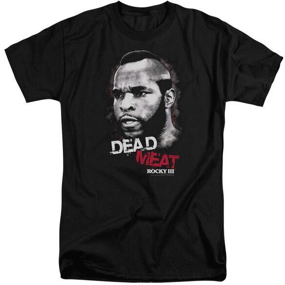 Rocky Iii Dead Meat Short Sleeve Adult Tall T-Shirt