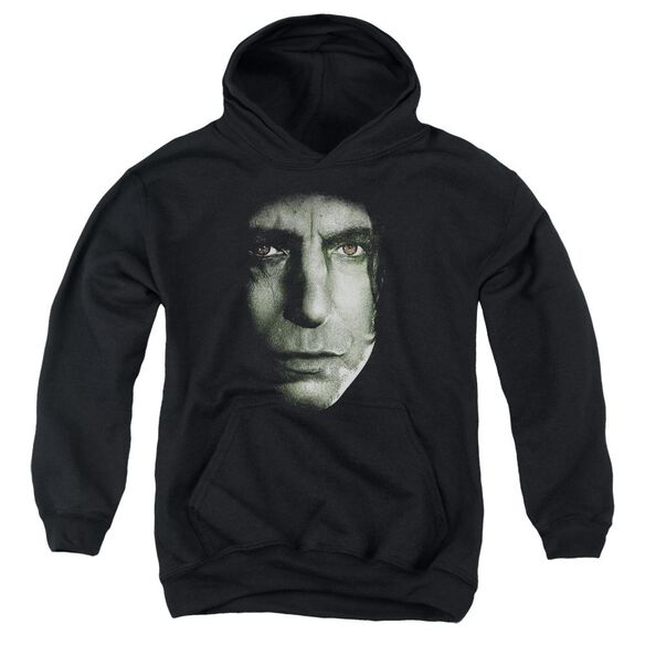 Harry Potter Snape Head Youth Pull Over Hoodie