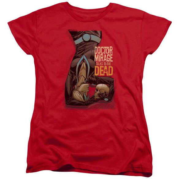 Doctor Mirage Talks To The Dead Short Sleeve Womens Tee T-Shirt