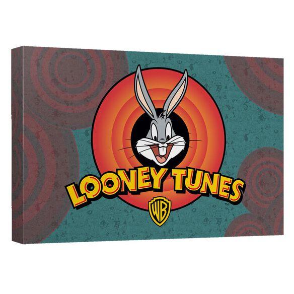 Looney Tunes Looney Logo Quickpro Artwrap Back Board