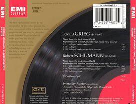 Sviatoslav Richter - Grieg: Piano Concerto; Schumann: Piano Concerto; Papillons