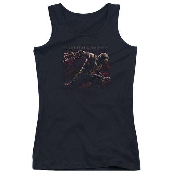 Mortal Kombat X Scorpion Lunge Juniors Tank Top