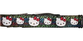 Hello Kitty Colored Tiger Stripes Seatbelt Mesh Belt
