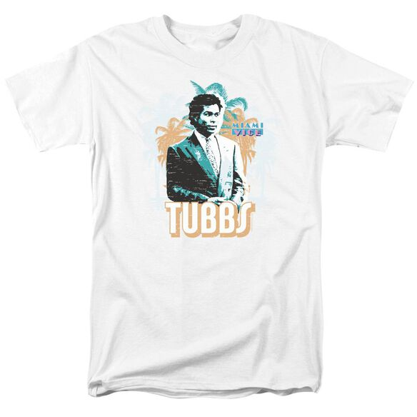 Miami Vice Tubbs Short Sleeve Adult T-Shirt