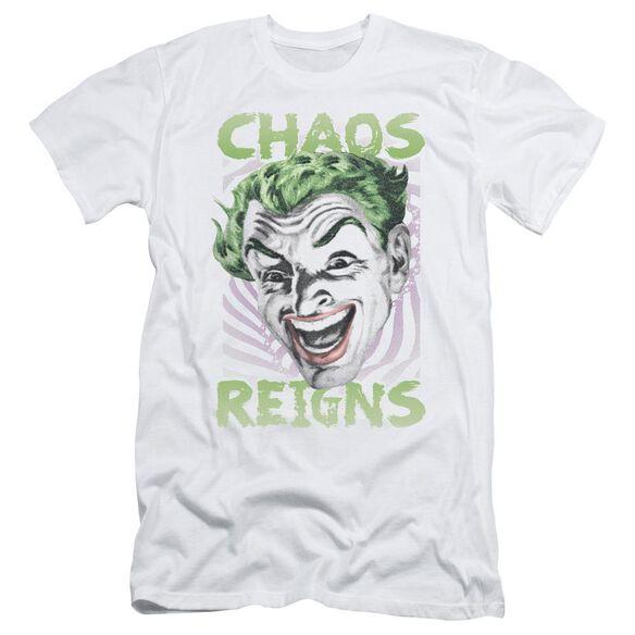 Batman Classic Tv Chaos Reigns Short Sleeve Adult T-Shirt