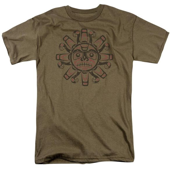 TRIBAL SUN - ADULT 18/1 - SAFARI GREEN T-Shirt