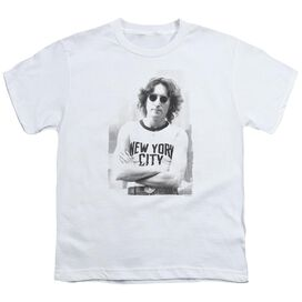 John Lennon New York Short Sleeve Youth T-Shirt