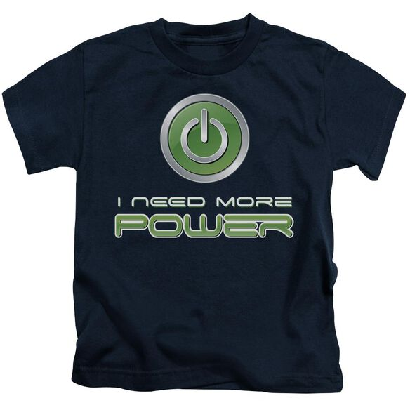 More Power Short Sleeve Juvenile T-Shirt