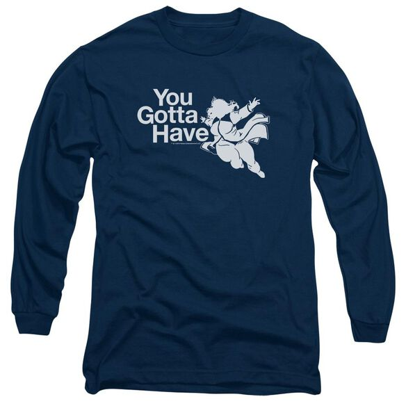 Valiant You Gotta Have Faith Long Sleeve Adult T-Shirt