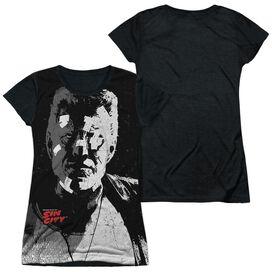 Sin City Marv Short Sleeve Junior Poly Black Back T-Shirt