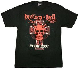 Heaven and Hell Cross T-Shirt