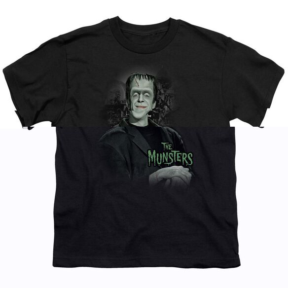 THE MUNSTERS MAN OF THE HOUSE - S/S YOUTH 18/1 - BLACK T-Shirt