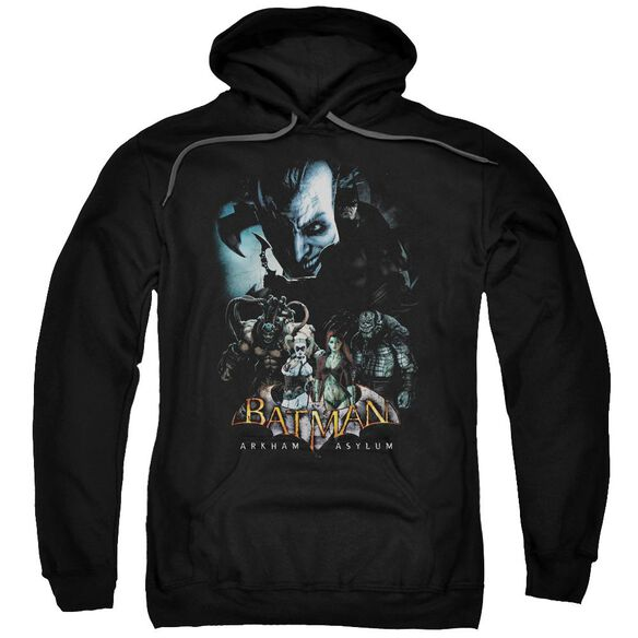 Batman Aa Five Against One Adult Pull Over Hoodie