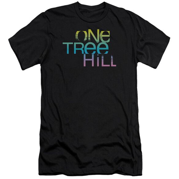 One Tree Hill Color Blend Logo Premuim Canvas Adult Slim Fit