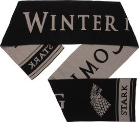 Game of Thrones Stark Logo Winter is Coming Scarf