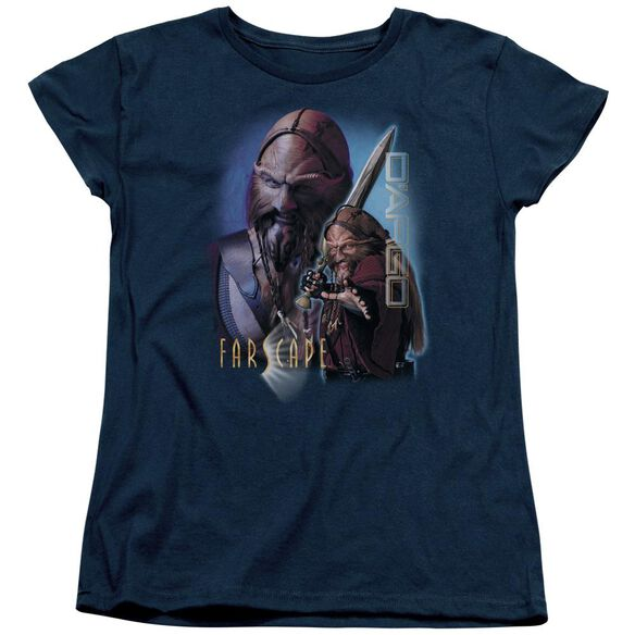 FARSCAPE DARGO - S/S WOMENS TEE - NAVY T-Shirt
