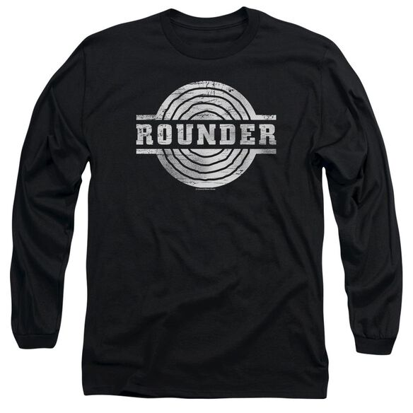 Rounder Rounder Retro Long Sleeve Adult T-Shirt
