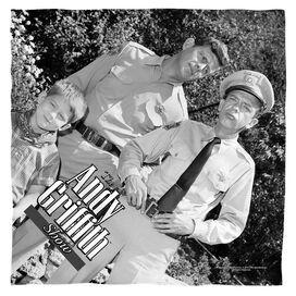 Andy Griffith Lawmen Bandana White