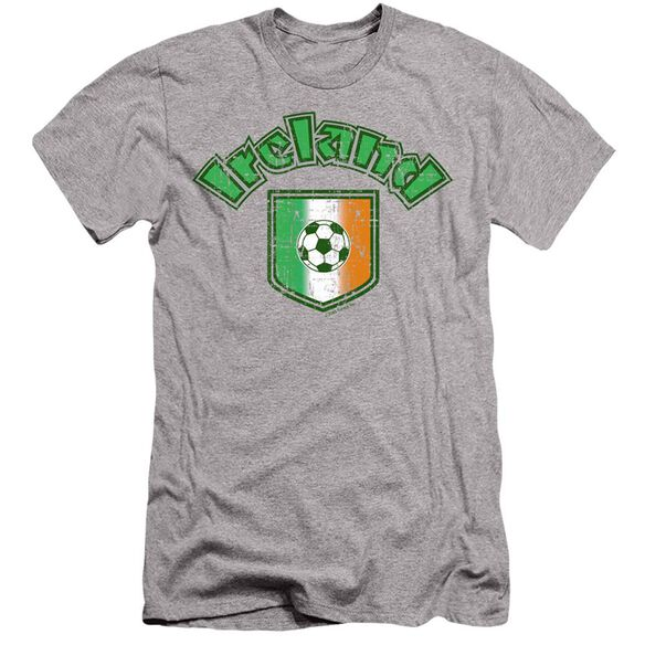 IRELAND WITH SOCCER FLAG- ADULT T-Shirt