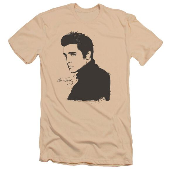 Elvis Black Paint Premuim Canvas Adult Slim Fit