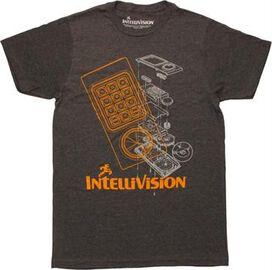 Intellivision Controller Schematic T-Shirt