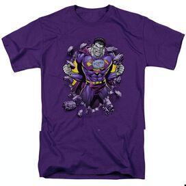 SUPERMAN BIZZARO BREAKTHROUGH - S/S ADULT 18/1 - PURPLE T-Shirt