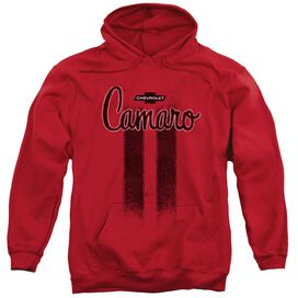 Chevrolet Camaro Stripes Adult Pull Over Hoodie