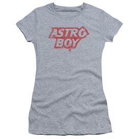 Astro Boy Logo Short Sleeve Junior Sheer Athletic T-Shirt