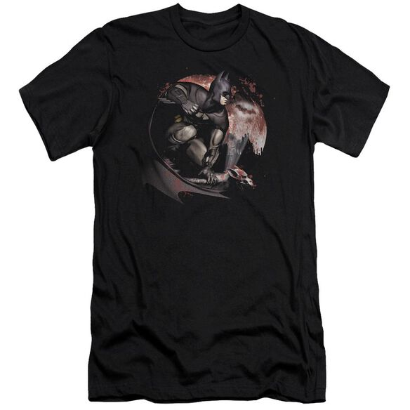 Arkham City Blood Moon Short Sleeve Adult T-Shirt