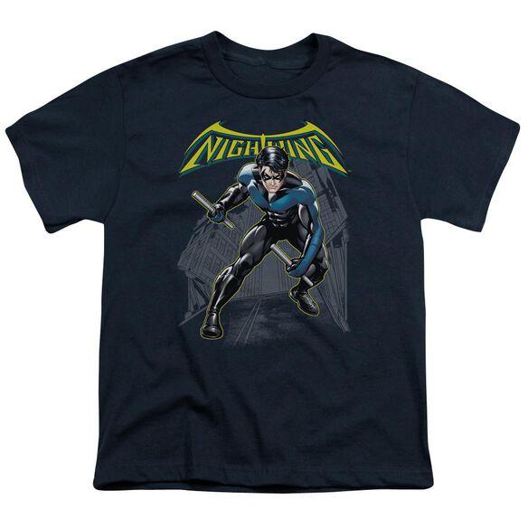 Batman Nightwing Short Sleeve Youth T-Shirt