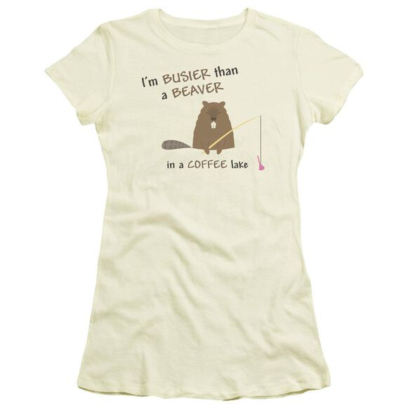 Busy Beaver Short Sleeve Junior Sheer T-Shirt