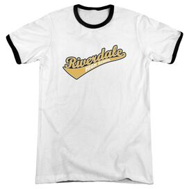 Archie Comics Riverdale High School Adult Ringer White