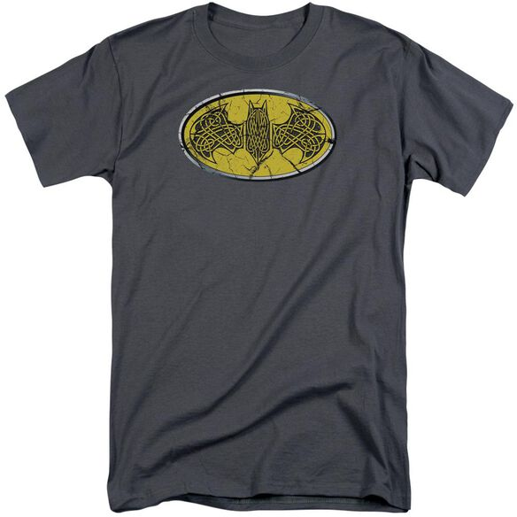 Batman Celtic Shield Short Sleeve Adult Tall T-Shirt