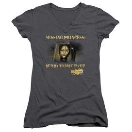 Mirrormask Missing Princess Junior V Neck T-Shirt