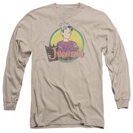 Archie Comics Jughead Distressed Long Sleeve Adult T-Shirt