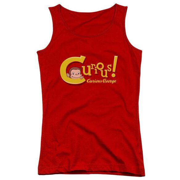 Curious George Curious Juniors Tank Top
