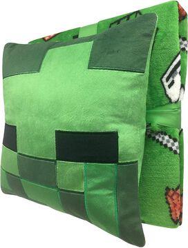 Minecraft Pillow & Throw Blanket Set
