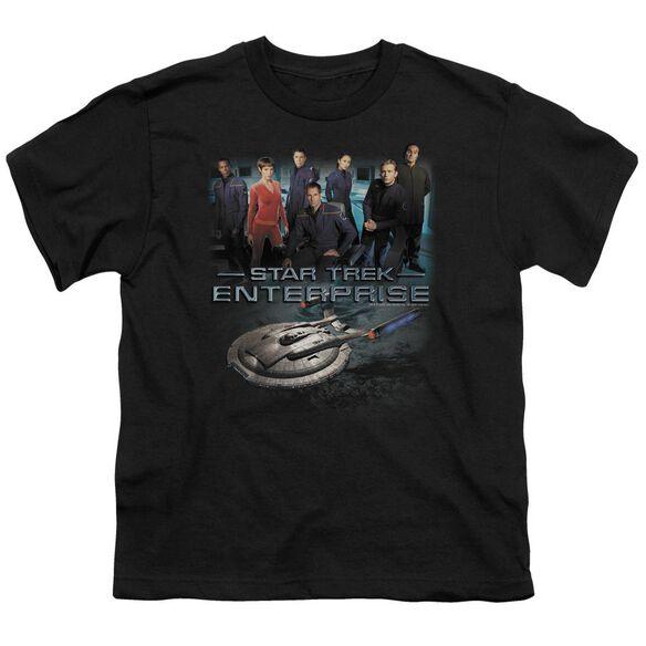 Star Trek Enterprise Crew Short Sleeve Youth T-Shirt