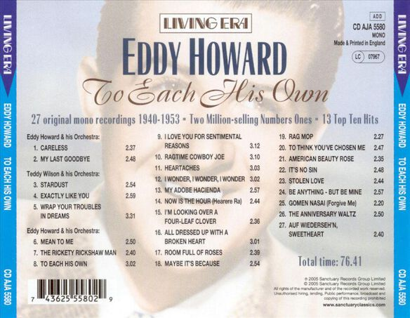 To Each His Own 0705